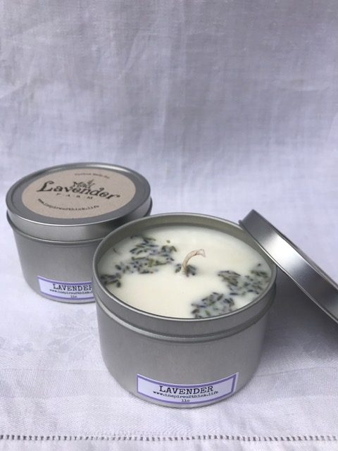 Lavender Candle in an 8oz Tin