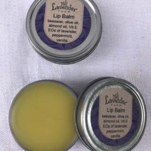Lavender Peppermint Vanilla Lip Balm