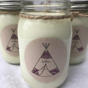 Ceremonial Smudge Aromatherapy Candle
