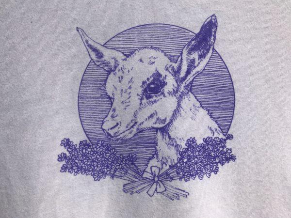 Baby Goat Tee Shirt in White