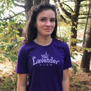 Tee shirt purple, Mad Lavender Farm