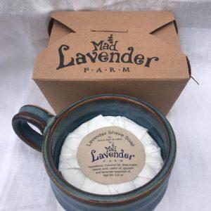 Lavender Shave Soap and Mug