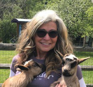 Ava goat yoga teacher