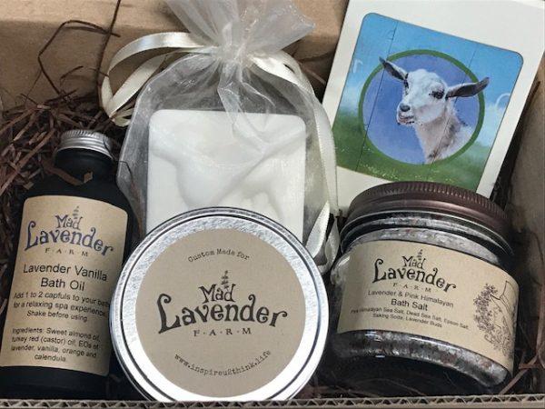 Lavender Bath Box Deluxe