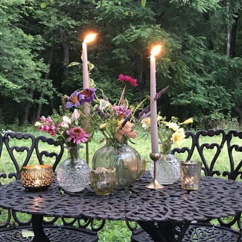 FlowersCandlelight