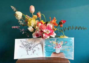 May Flower Art Workshop